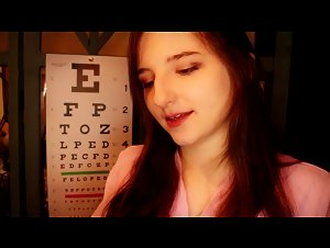 AftynRose ASMR Most Professional Eye Exam Video