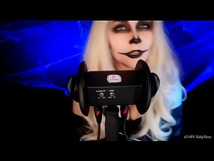KittyKlaw ASMR Skeleton Licking & Mouth Sounds